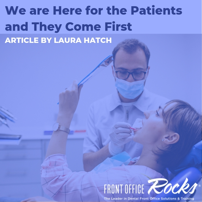 We are Here for the Patients and They Come First Article by Laura Hatch Cover Image