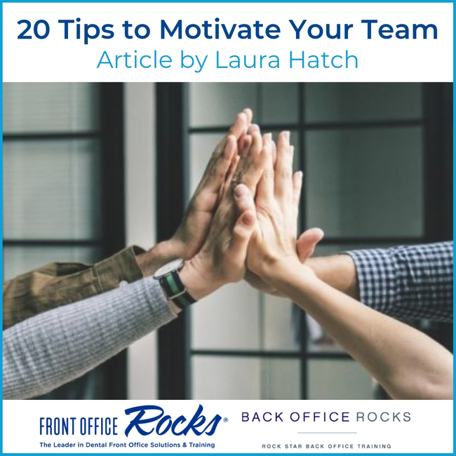 20 Tips to Motivate Your Team